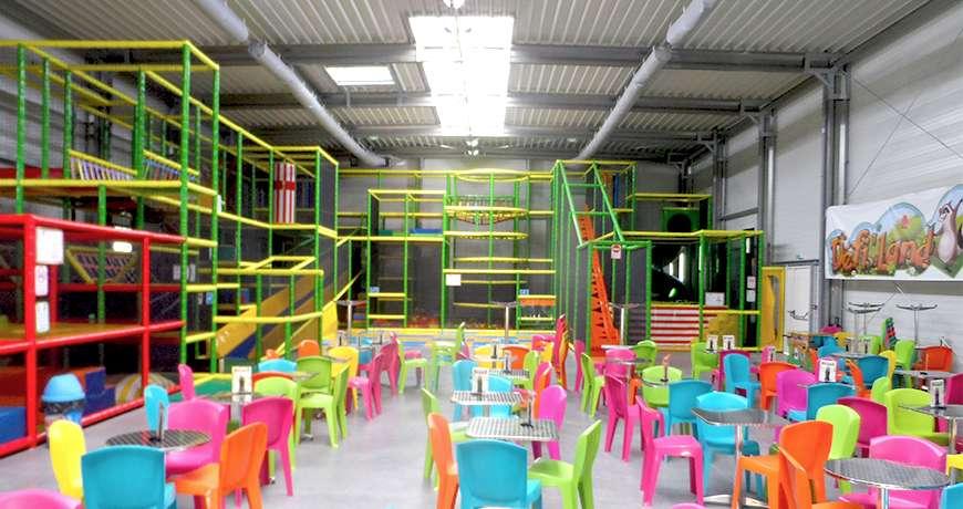 sports hall playground interior steel hall storage