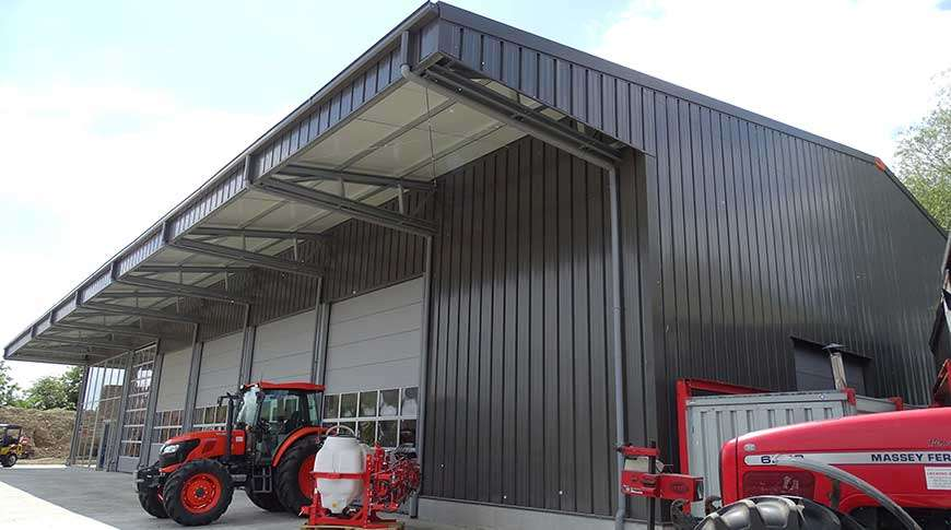 buildings storage agriculture PESB steel halls