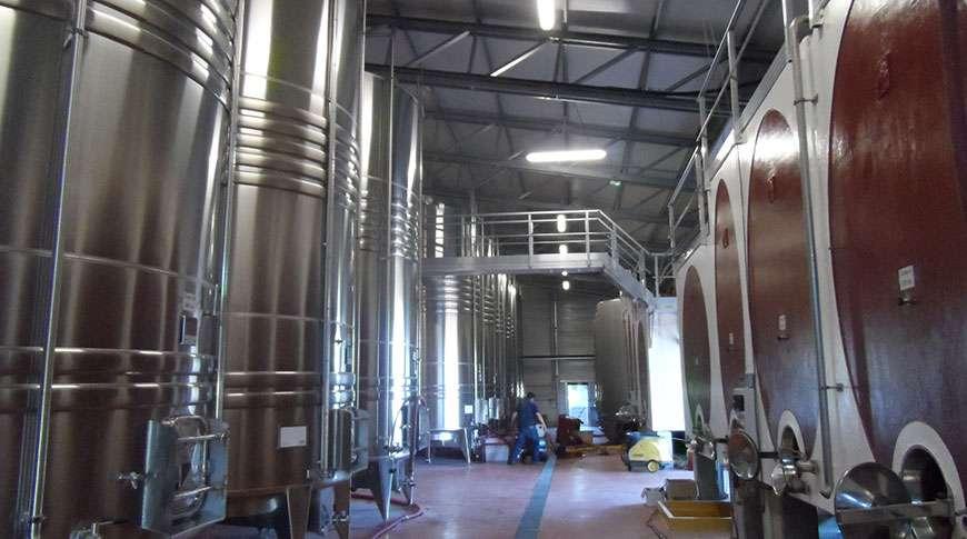winery steel hall metal storage buildings prefab